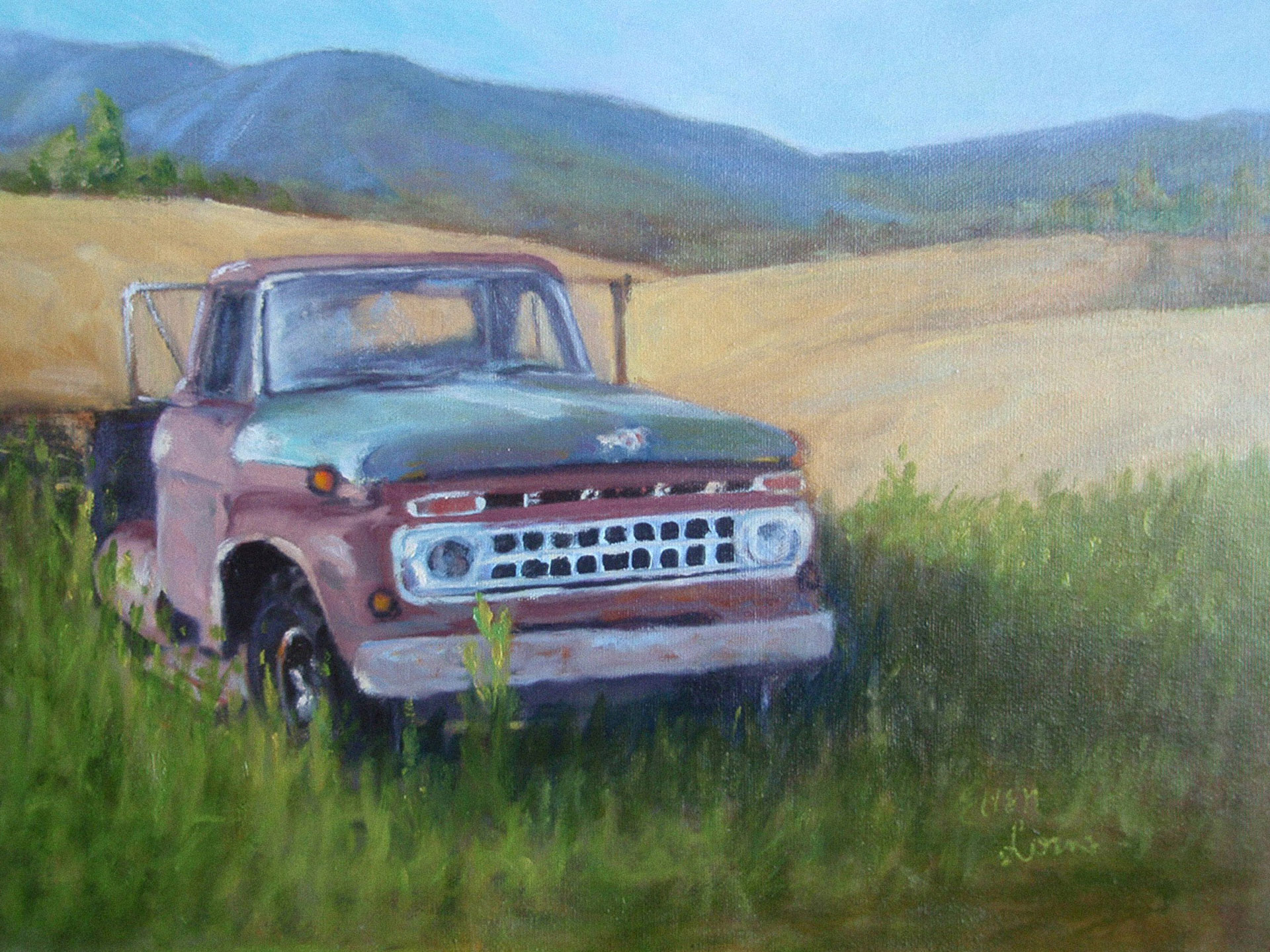 Old Ford Truck 105